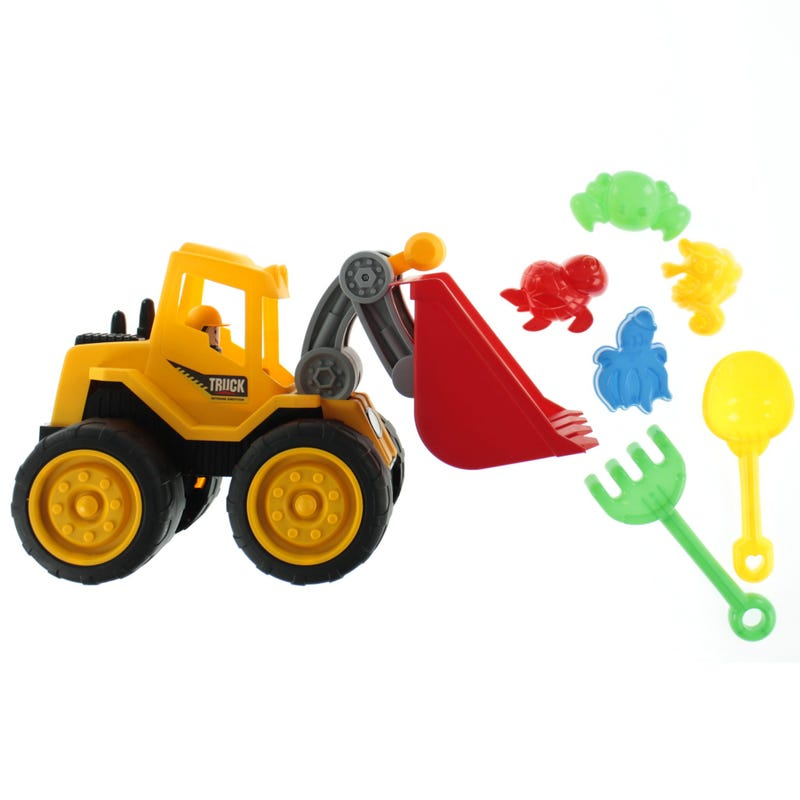 Kit Truck And Toys Beach