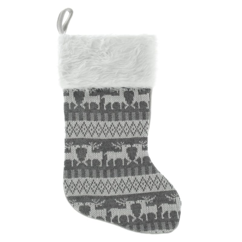 Christmas Stocking - Grey