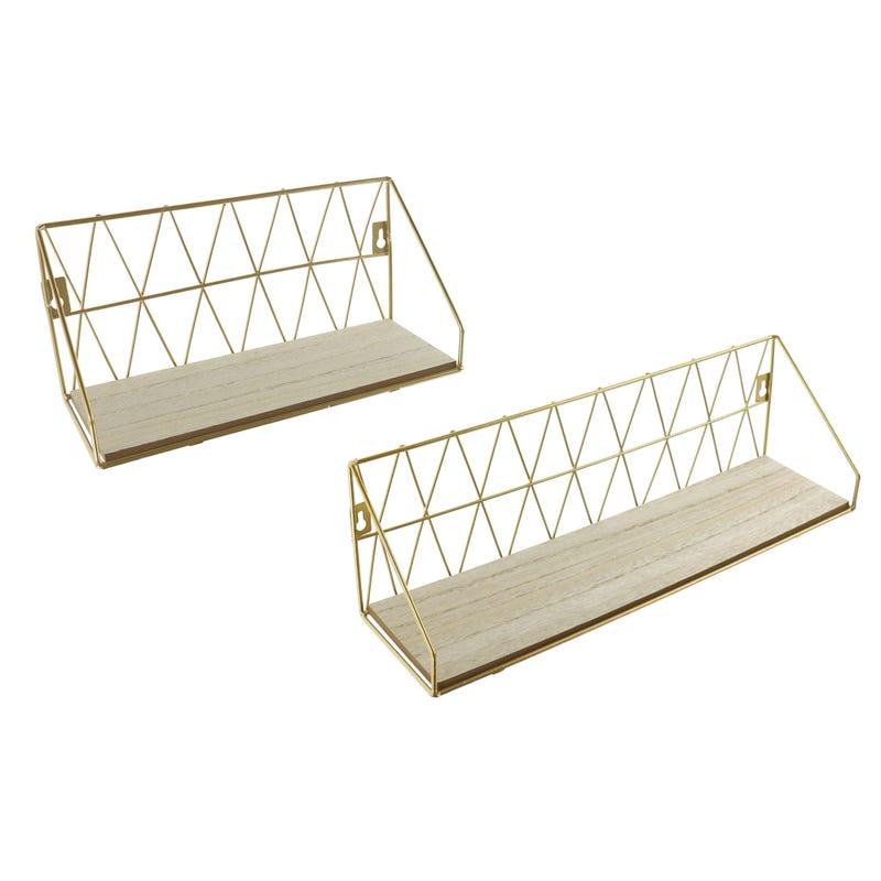 Shelf Kit 2-Pack - Gold