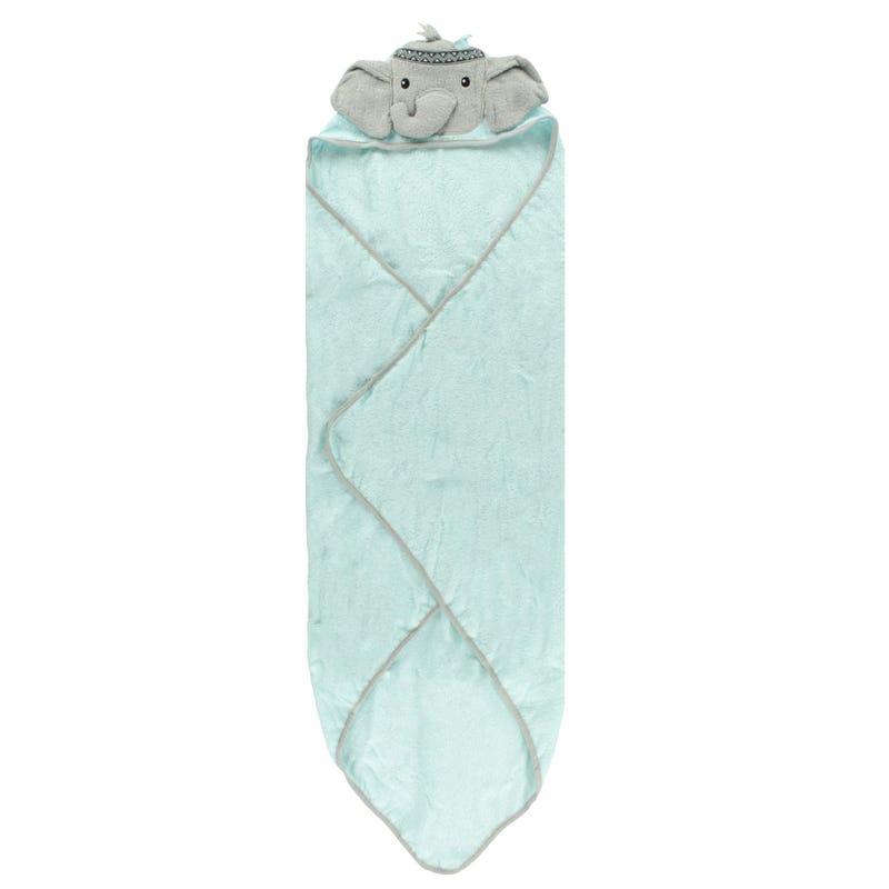 Hooded Towel - Grey Elephant