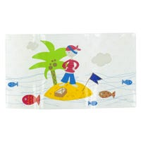 Tapis de Bain Pirate Transparent