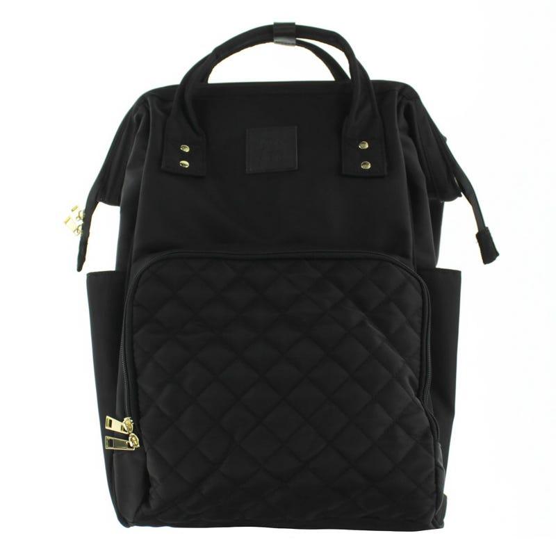 Backpack Diaper Bag - Black Diamond