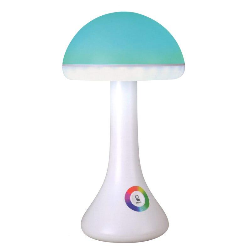 Lampe Champignon Multicolore