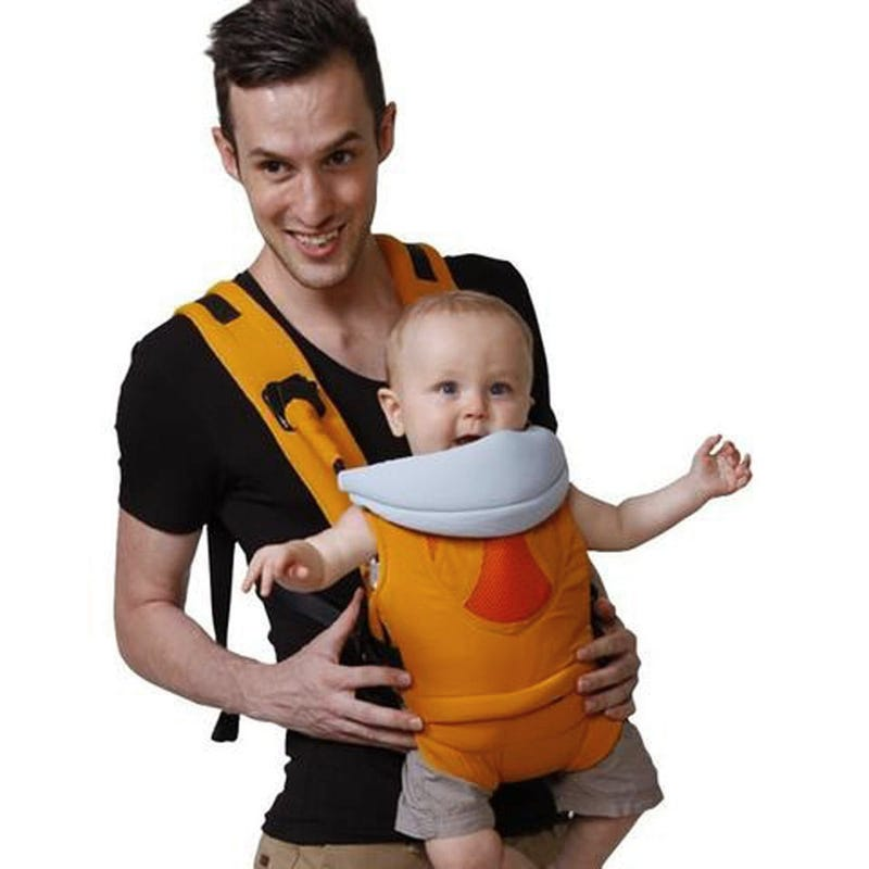 4-In-1 Baby Carrier - Orange