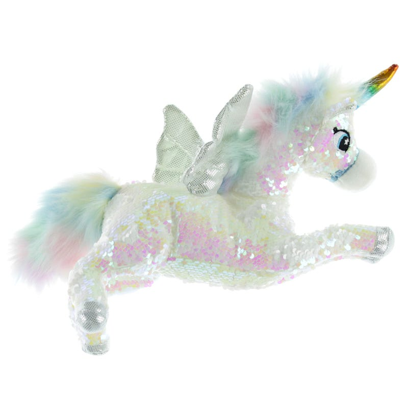 Unicorn Sequin White