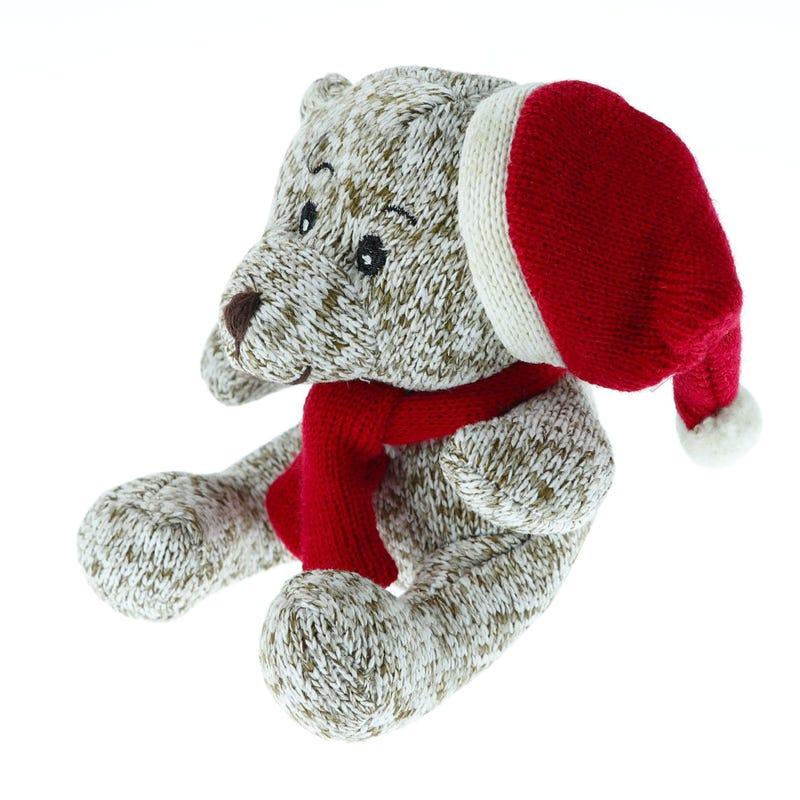 Peluche Ours de Noël