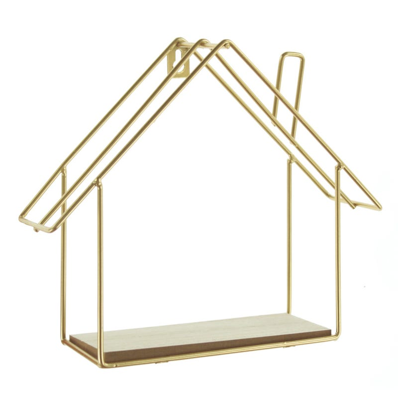 Shelf House - Gold
