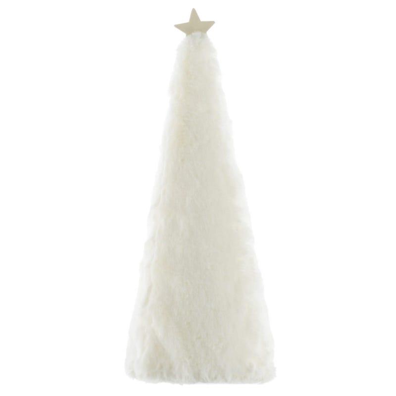 Fur Chritmas Tree - White