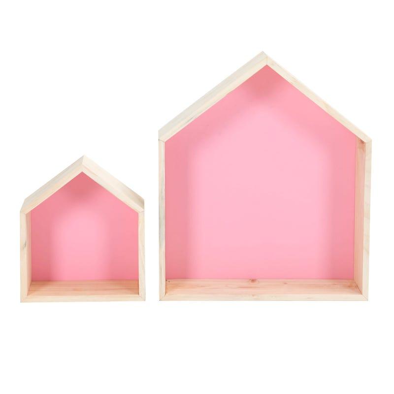 House Shelf 2-Pack - Pink