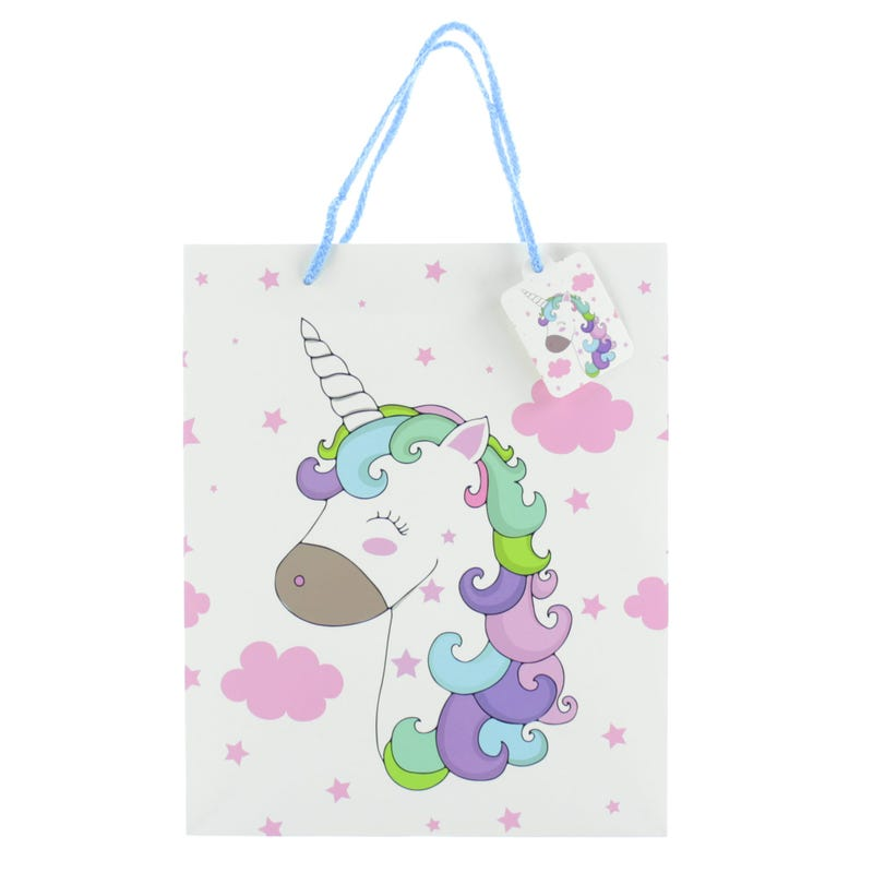Gift Bag - White Unicorn