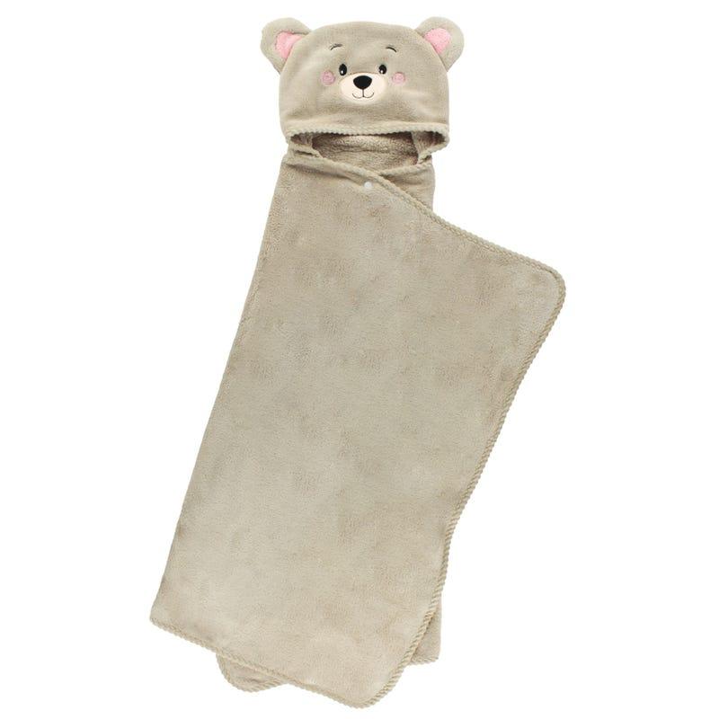 Deluxe Hooded Towel Bear - Brown