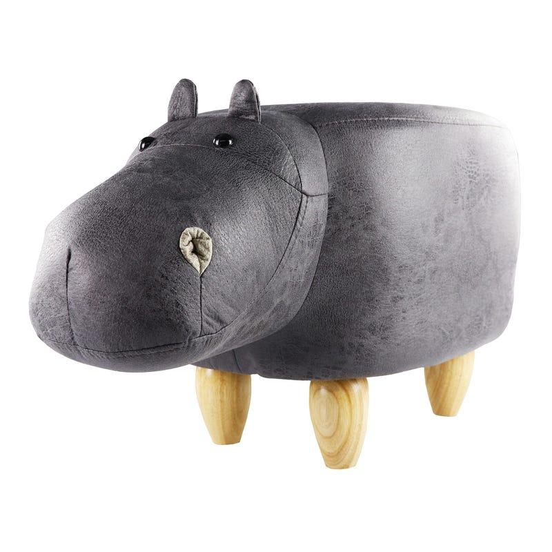 Tabouret Hippopotame