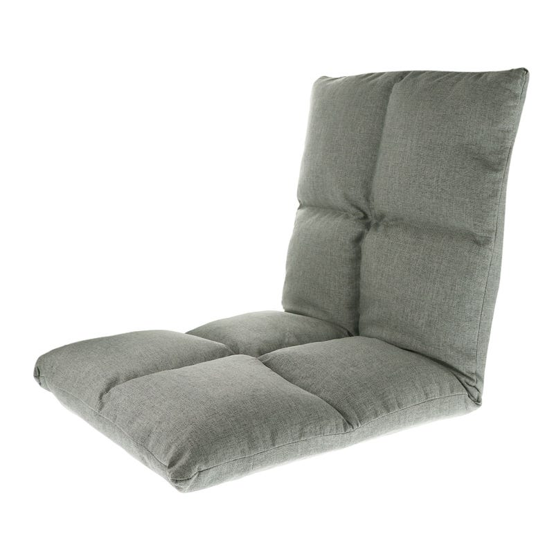 Folding Gaming Chair - Grey