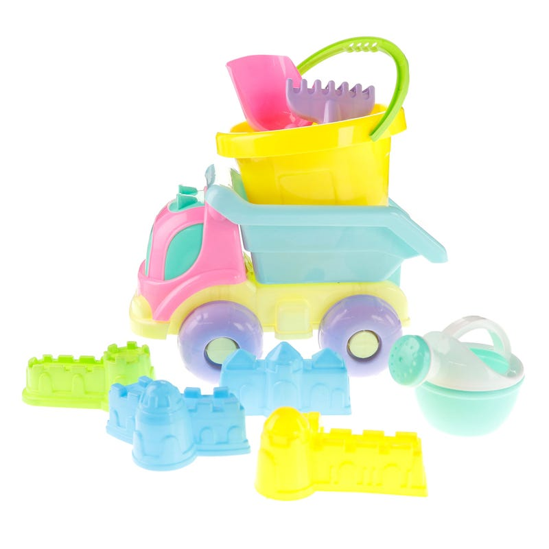 Dump Truck Toys Beach Kit - Pink