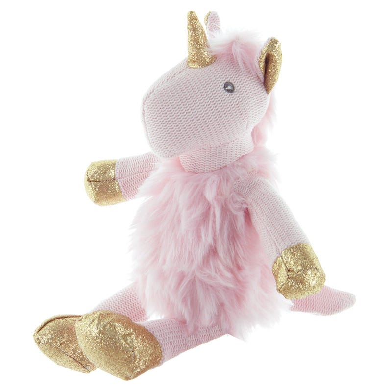 Unicorn Étincelle Knitted Pink