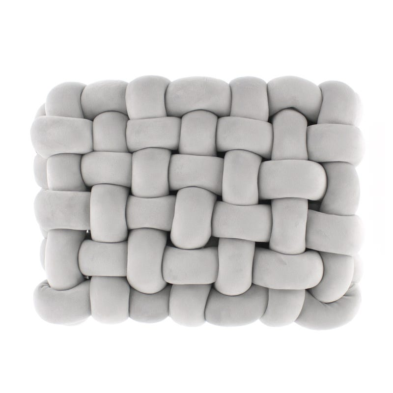 Coussin Noeud - Gris
