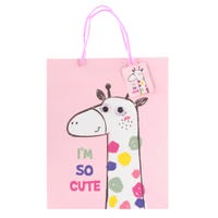 Gift Bag - Giraffe Multicolor