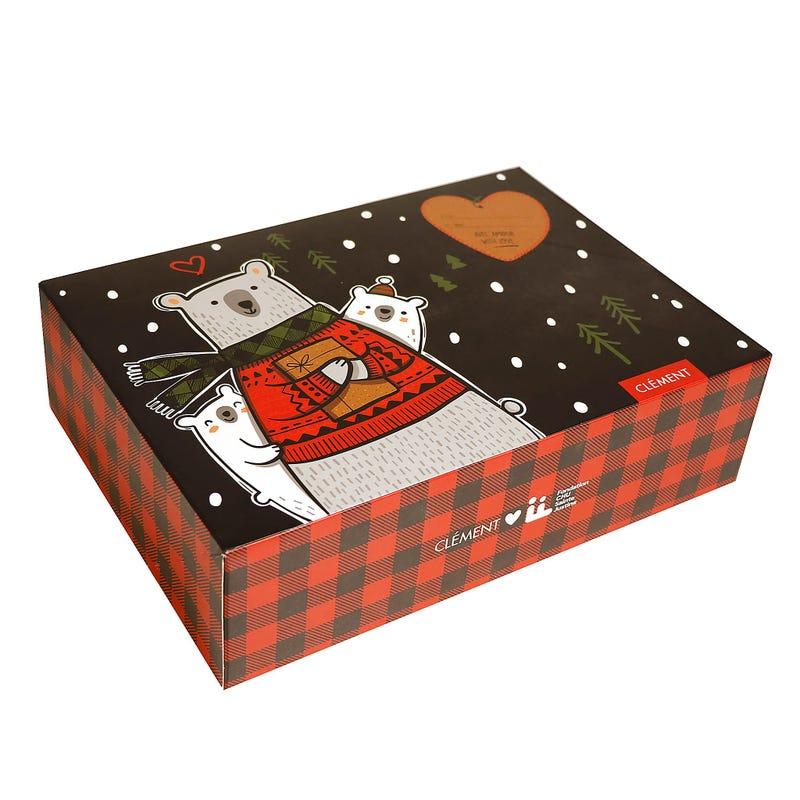 Boite Cadeau Ours De Noël