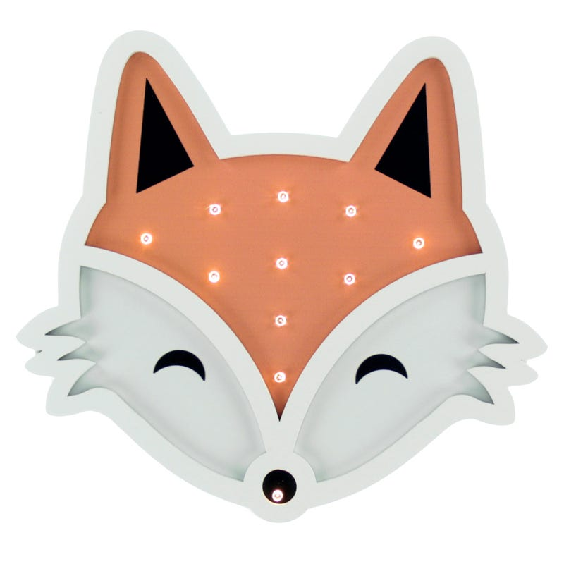 Fox Head Led Night Light