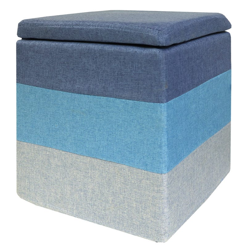 Storage Stool - Blue
