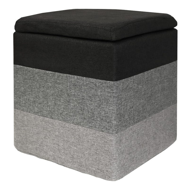 Storage Stool Grey