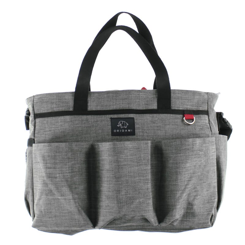 Diaperbag Grey Oscar