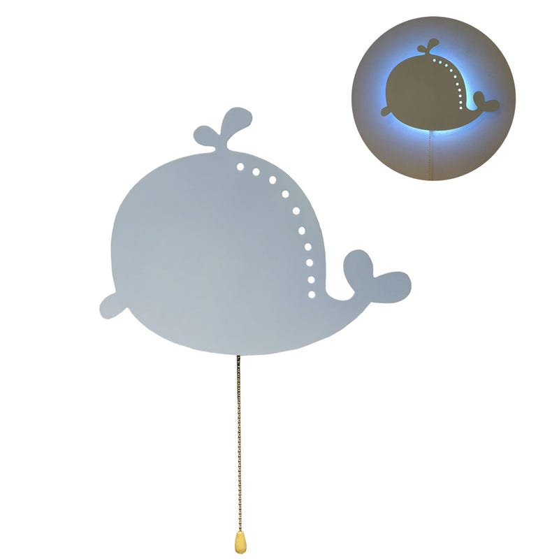 Night light Whale LED Rope