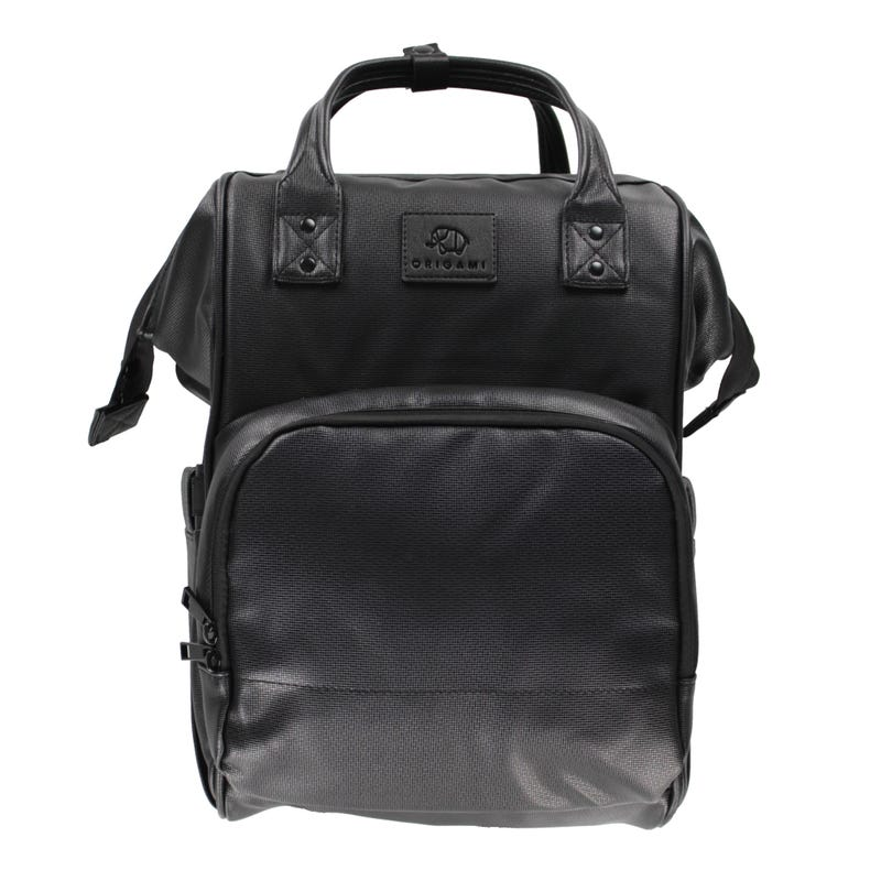 Diaper Backpack -Black Origami