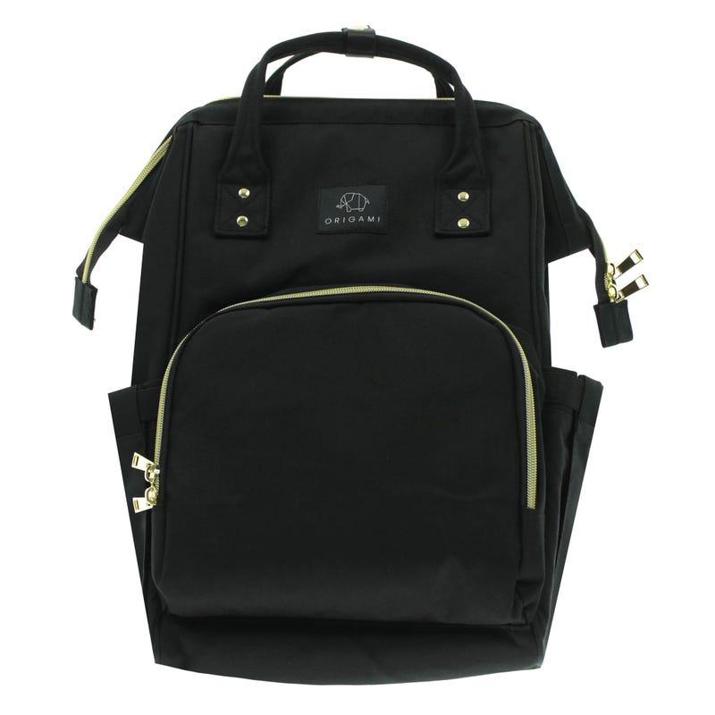 Backpack Diaper Bag - Black