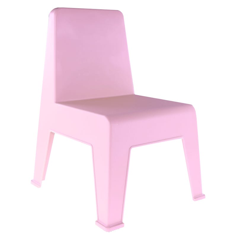 Chaise Plastique Rose Pale