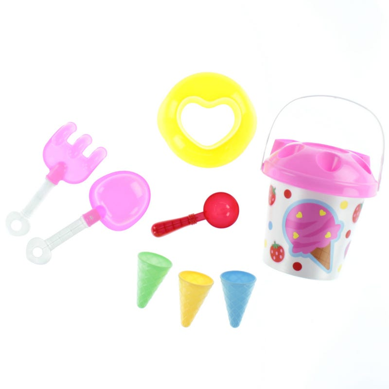 Bucket and Scoop Beach Toys - Icecream