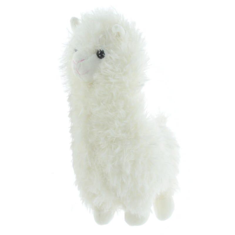 Llama Plush - White