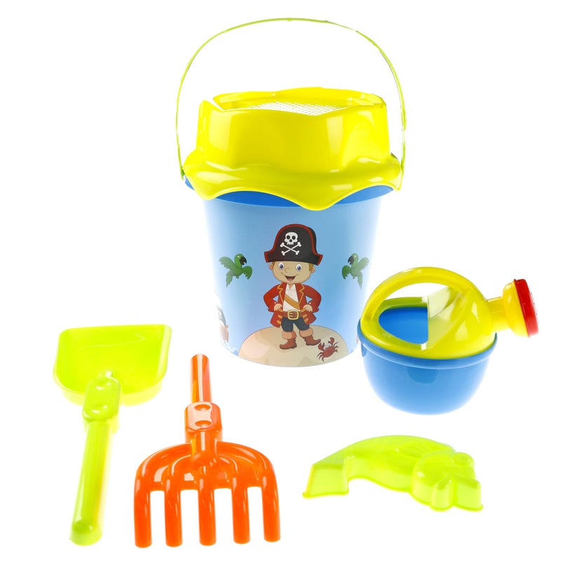 Bucket and Scoop Beach Toys - Pirates