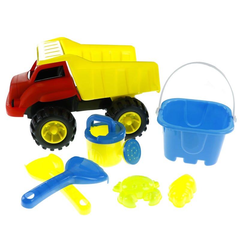 Dump Truck Toys Beach Kit