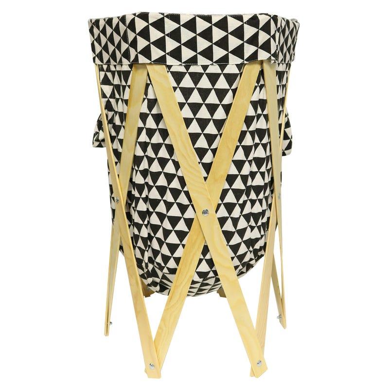 Clothing Basket - Black