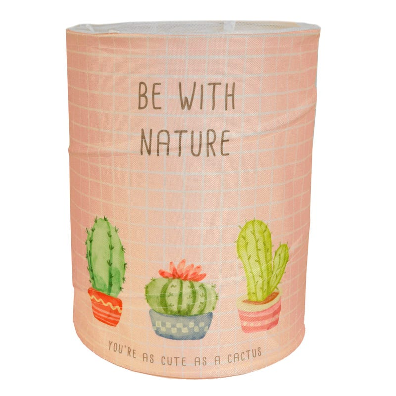 Cactus Laundry Basket