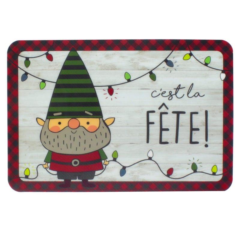 Napperon Noël C'est La Fête