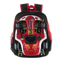 Racing Car Backpack - Red