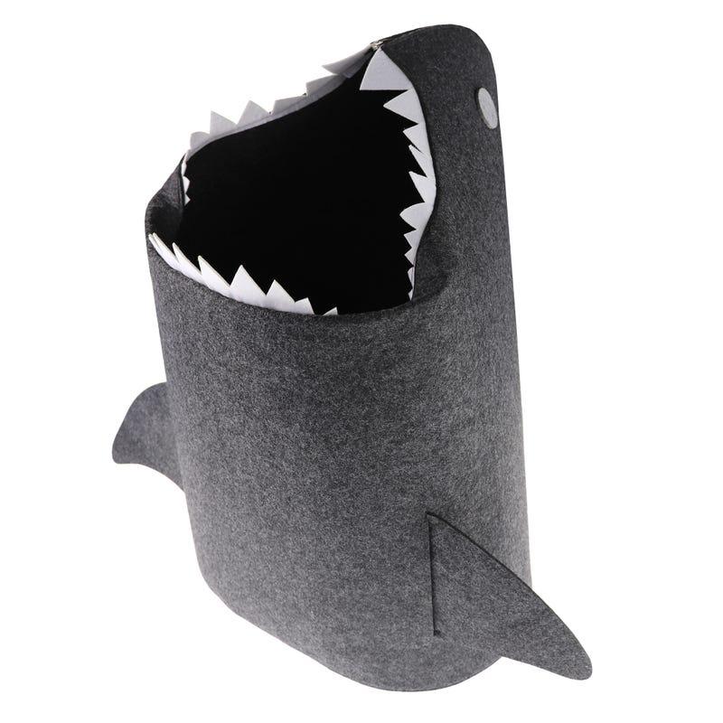 Panier à linge requin 41x35x58