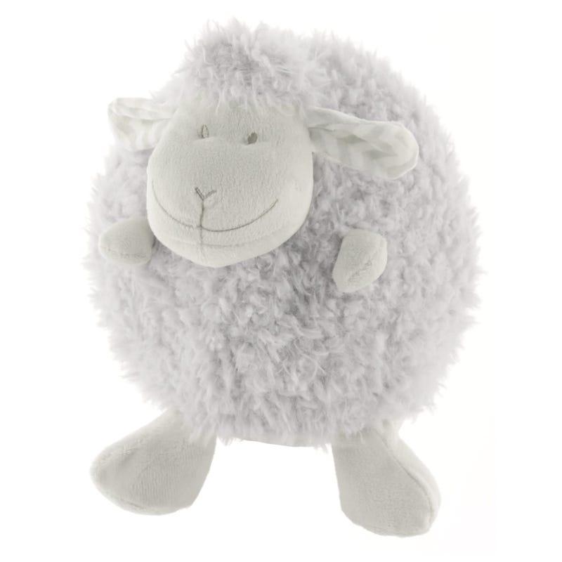 Plush - Round Grey Sheep Chevron