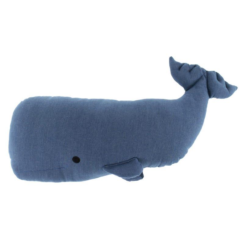 Whale Plush - Navy