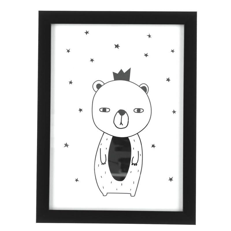 Bear Crowned Frame