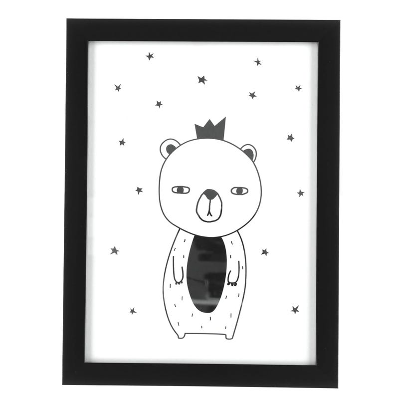 Bear Crowned Frame
