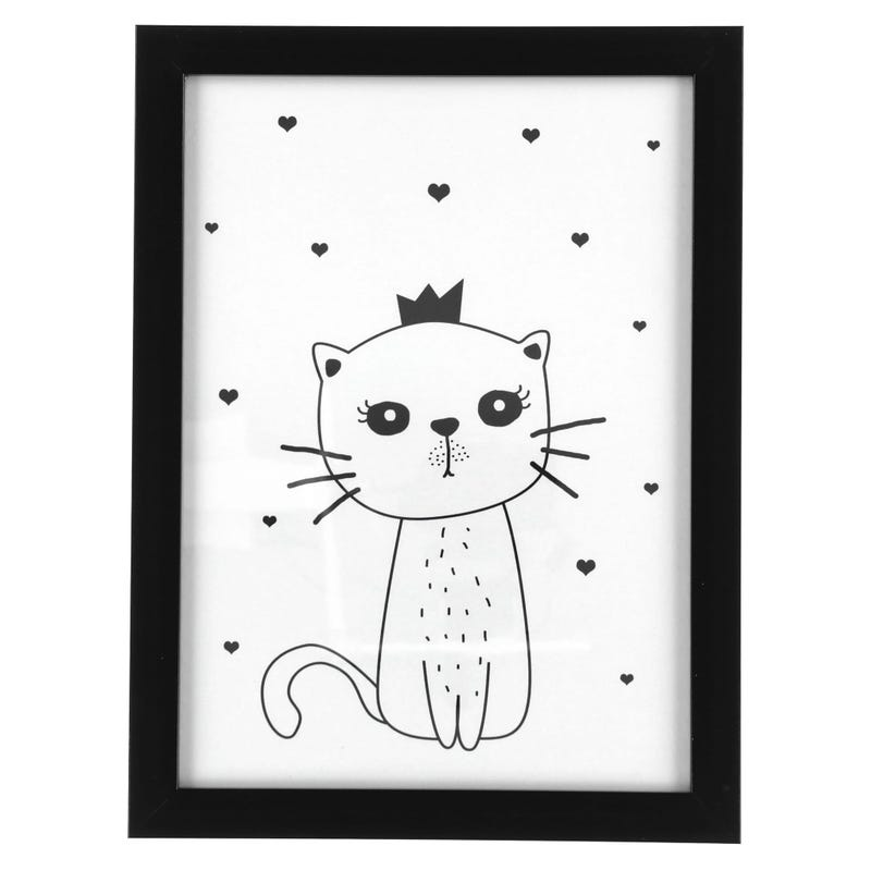 Cat Crowned Frame