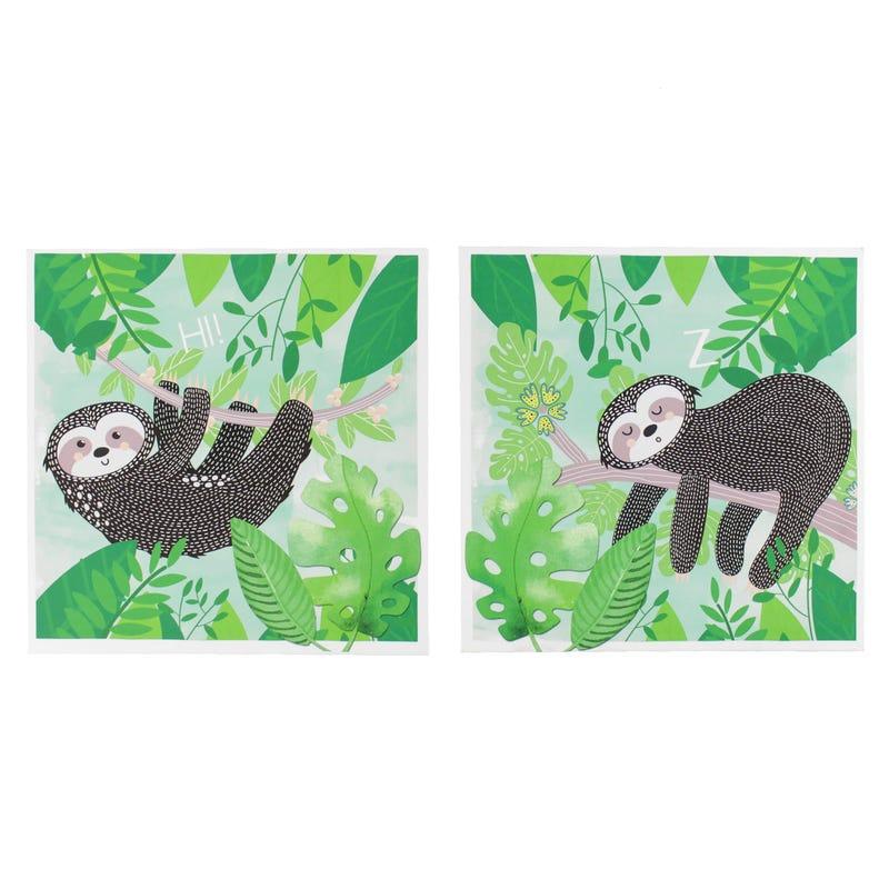 Sloth Frames 2-Pack