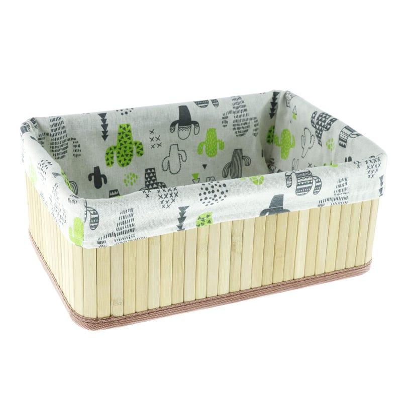 Bamboo Cactus Basket
