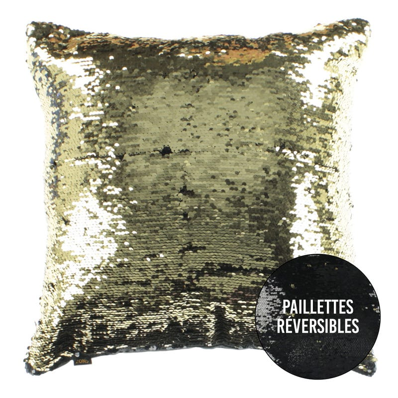 Cushion - Black/Gold