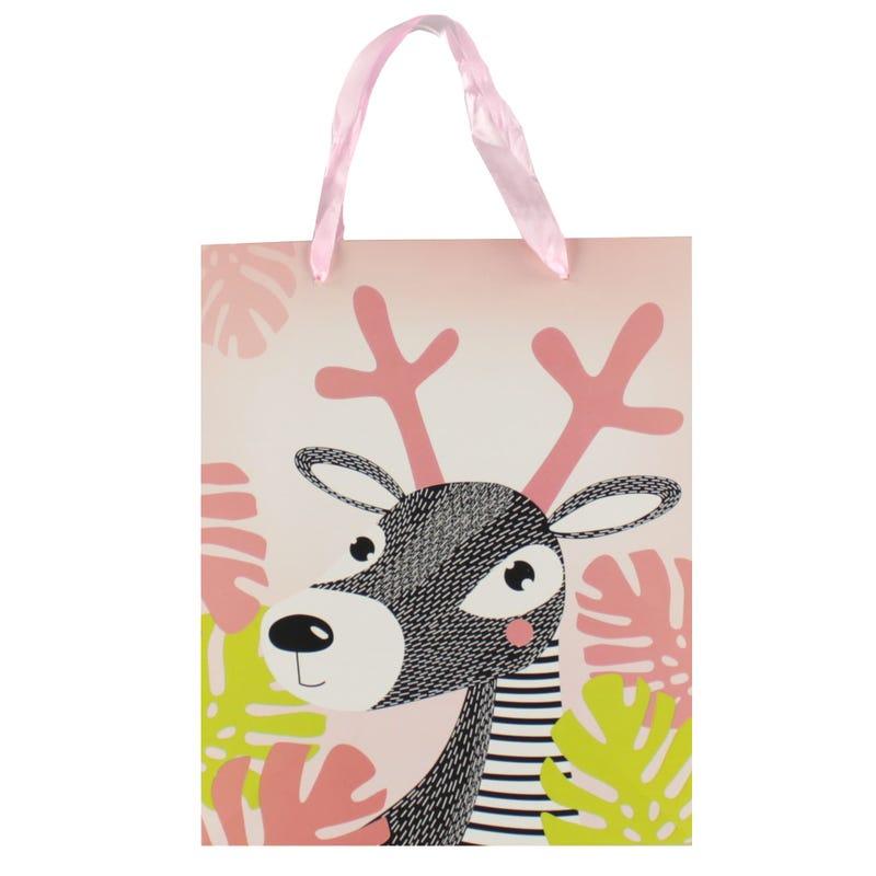 Gift Bag - Deer Pink