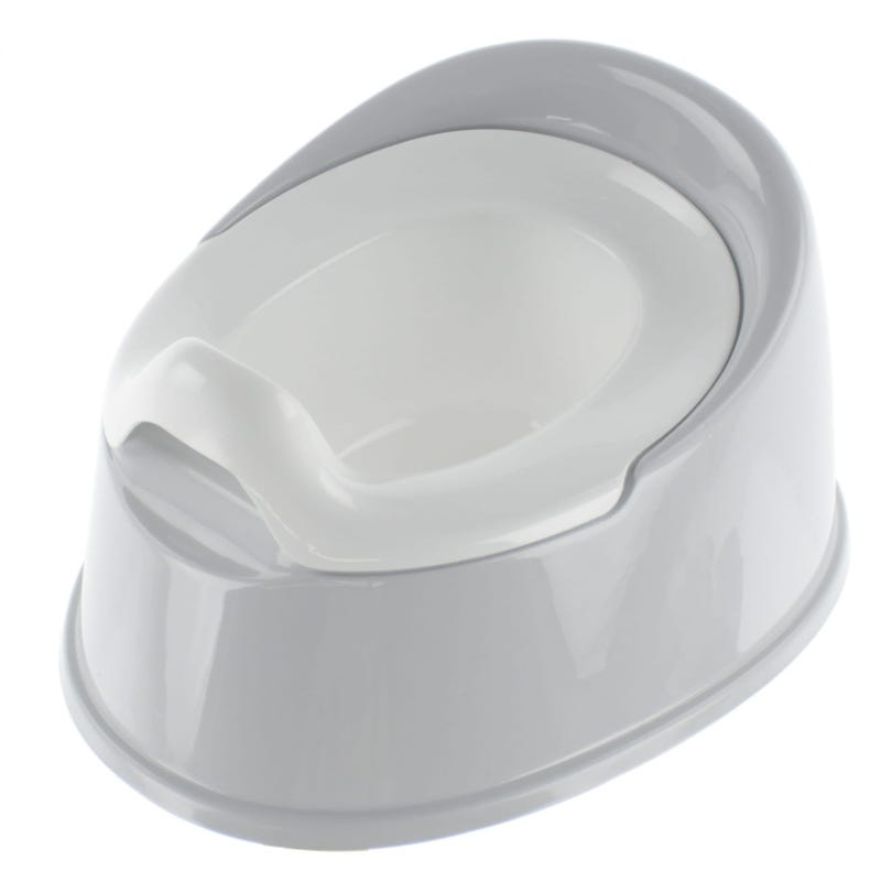 Potty - White/Gray