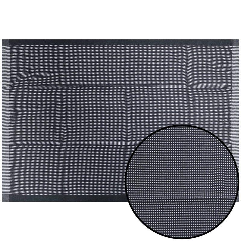 Decorative Rug - Gray/White